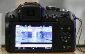 Kamera nimmt Experiment auf