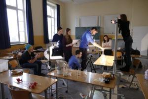 Schüler erstellen Kniffelix Video