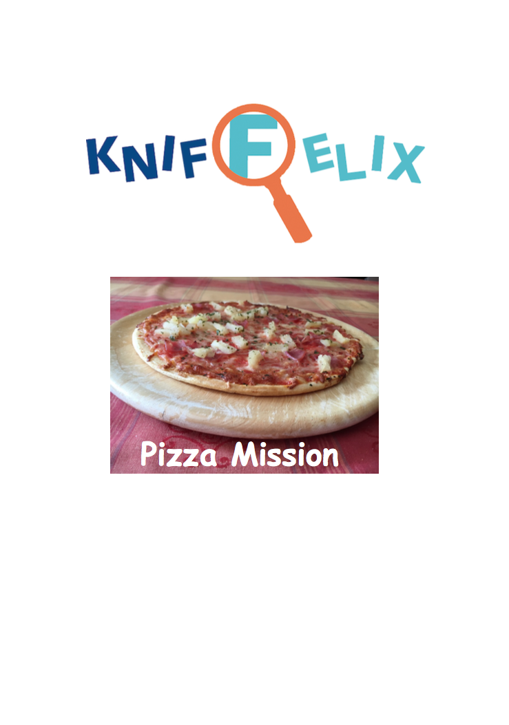 Downloadmaterial Kniffelix Pizza Missionen