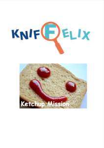 Downloadmaterial Kniffelix Ketchup Missionen