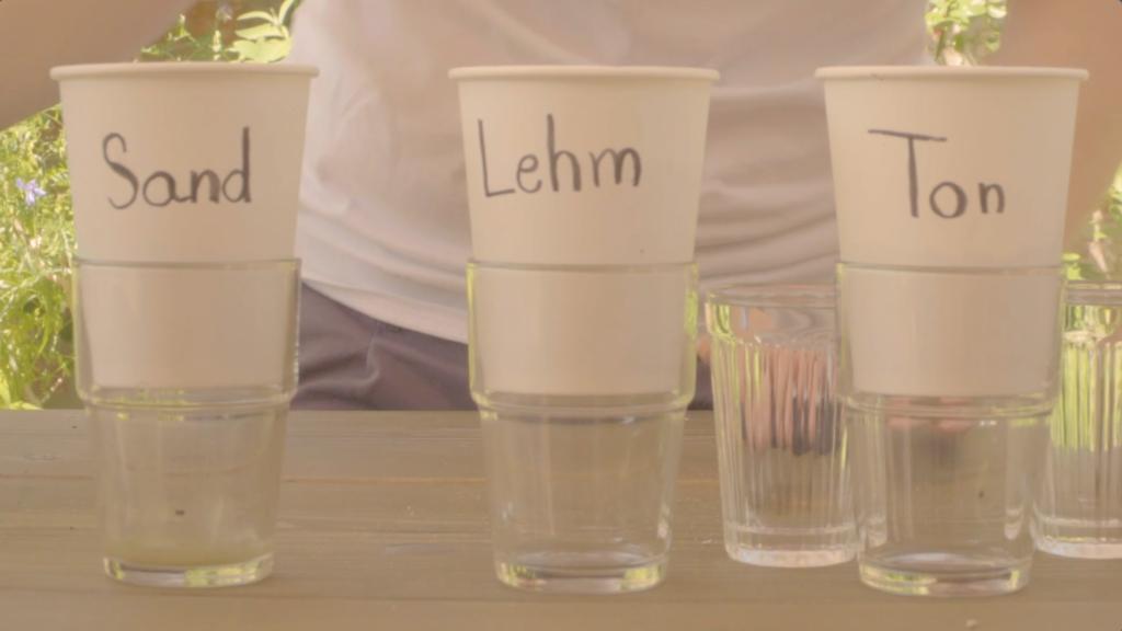 Wasser-Boden-Experiment