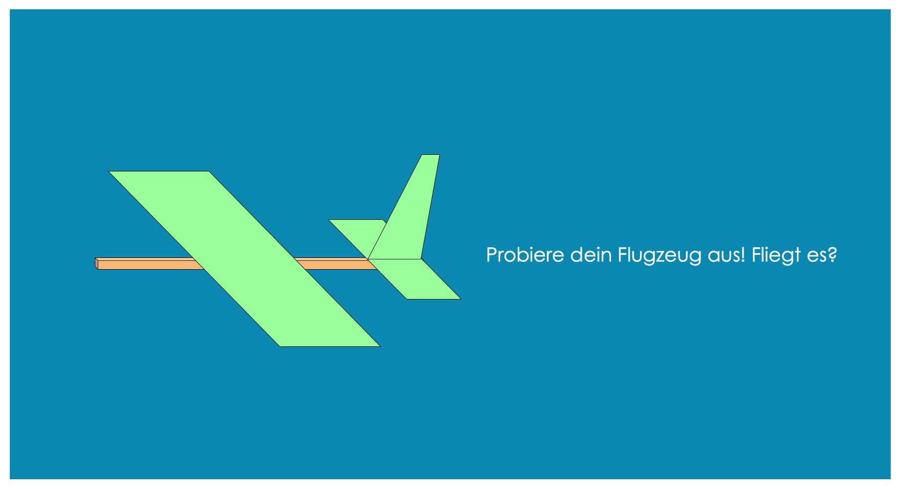 Flieger Schritt 4